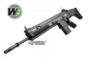 【翔準軍品AOG】黑色~WE SCAR SSR MK20 AEG 全金屬 電動槍 ,強磁 馬達D-06-4-14