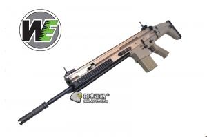 【翔準軍品AOG】沙色~WE SCAR SSR MK20 AEG 全金屬電動槍 ,強磁馬達D-06-4-13