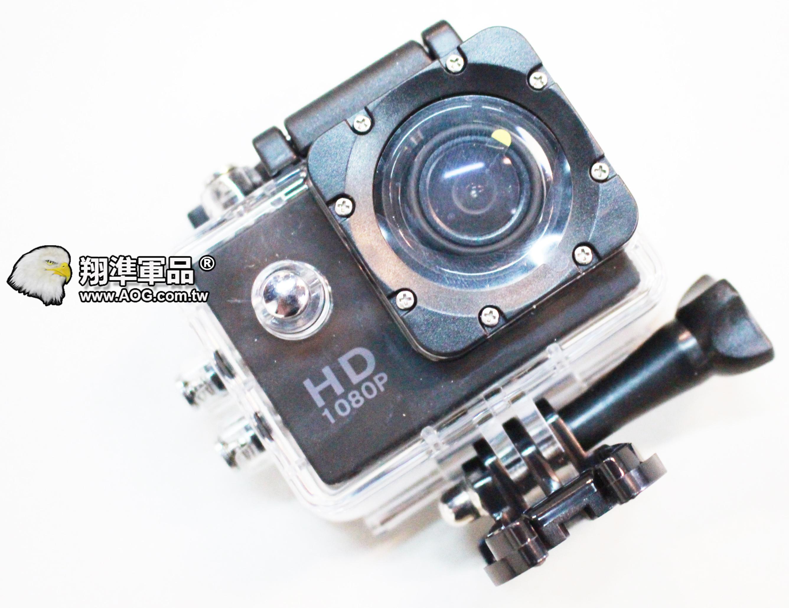 【翔準國際AOG】HD 廣角微型運動攝影機 攝像機 紀錄器 套裝整組 GMATE-HD1 非GORPO