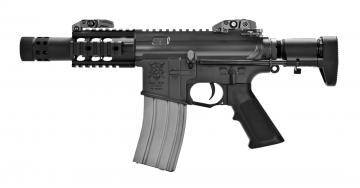 【翔準軍品AOG】【VFC】VR16 STINGER SB 電動槍 衝鋒槍 免運費 VF1-M4_SB_XS-BK0