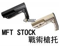 【翔準軍品AOG】MFT STOCK 戰術 槍托 後托 電動槍 瓦斯槍 周邊套件 C1011-1C