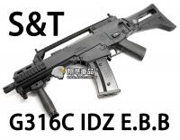 【翔準軍品AOG】【S&T】G316C IDZ EBB 電動槍 生存遊戲 魚骨 槍托 握把 電池 DA-ST-G316