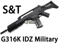 【翔準軍品AOG】【S&T】G316K IDZ Military EBB 電動槍 生存遊戲 魚骨 槍托 握把 電池 DA-ST-G316