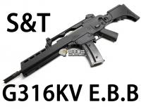 【翔準軍品AOG】【S&T】G316EV EBB 電動槍 生存遊戲 魚骨 槍托 握把 電池 DA-ST-G316