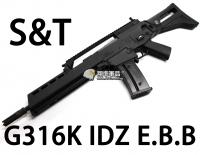 【翔準軍品AOG】【S&T】G316K IDZ EBB 電動槍 優惠 生存遊戲 魚骨 槍托 握把 電池 DA-ST-G316