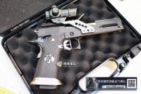 【翔準軍品AOG】AW HX2002 全配 6吋 5.1 黑龍 瓦斯競技手槍 送槍箱
