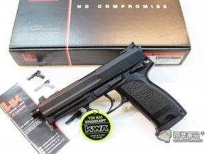 【翔準光學AOG】KSC KWA H&K USP 45T 瓦斯手槍 金屬滑套 《黑色》最高極頂級版 超重!! D-07-2