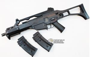 【翔準國際AOG】一槍一匣 S&T G316  G36 電動槍 衝鋒槍 摺疊後托 室內 生存遊戲