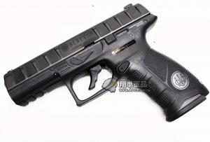 【翔準軍品AOG】【BERETTA APX 回膛版 黑】 CO2 鋼瓶 手槍 拆卸 全金屬 後座力 D-08-09CD