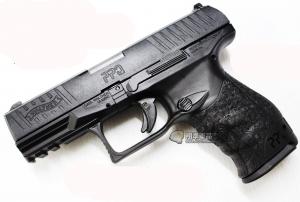 【翔準軍品AOG】【WALTHER PPQ 黑】 瓦斯槍 GBB 手槍 拆卸 全金屬 後座力 免運 D-08-09AB