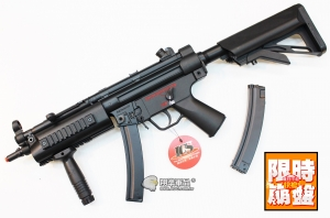 【翔準國際AOG】MX5 戰術電池伸縮托 (金屬版) ICS-117 MP5 電動槍 下殺破盤特價 台灣製造 特種部隊專用