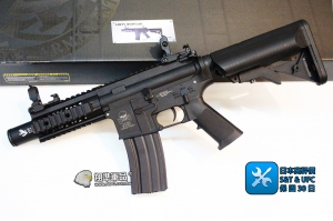 【翔準國際AOG】M4 URX 8 sportline 黑短 電動槍  AEG-71-BK