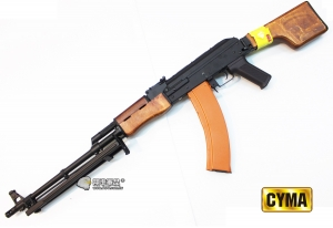 【翔準國際AOG】CYMA Real RPK AEG AK 重型機槍  實木 電動槍 CM052S
