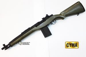 【翔準國際AOG】CYMA M14 Socom With OD 綠 司馬 電動槍  (特價)  DA-CM032A-OD