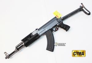 【翔準國際AOG】*無法超取*AK47 tactical BLACK 電動槍 半金屬 DA-CM028B