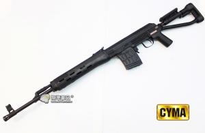 【翔準國際AOG】CYMA SVD 特戰版折疊托 電動槍 黑 CM057S