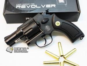 【翔準國際AOG】WG Smith&Wesson M36 左輪兩吋半 黑 全金屬 CO2手槍 黑色 WG003