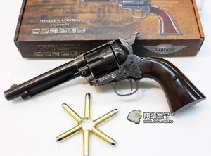 【翔準國際AOG】Umarex Colt SAA.45 CO2左輪手槍 舊化(風化黑) D-WG017