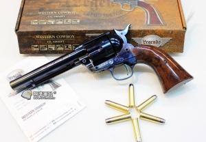 【翔準國際AOG】Umarex Colt SAA.45 CO2左輪手槍 (鈦藍) D-WG018