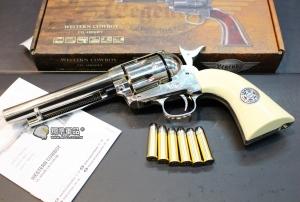 【翔準國際AOG】UMAREX COLT SAA .45 右輪 警長版 全金屬 CO2手槍 WG020