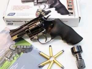 【翔準國際AOG】ASG DAN WESSON 715 2.5吋 鈦黑色 全金屬 左輪 WG025