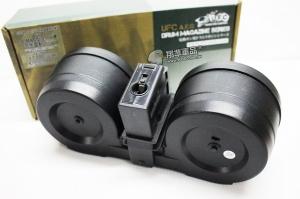 【翔準軍品AOG】【G36 聲控 彈鼓 2500連】G316 自動上彈 彈匣 大奶 彈量 大容量彈匣 DA-UFCMG608