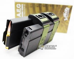 【翔準軍品AOG】【UFC 聲控 750連 彈鼓 M14 黑】自動 上彈 電動彈匣 雙排 DA-698-6C