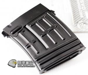 【翔準軍品AOG】S&T SVD 彈匣 無聲 80連 全金屬 電動槍專用 DA-STSVD80