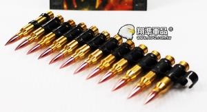 【翔準軍品AOG】UFC 5.56MM 裝飾彈鏈 M249 DA-UFCP-04