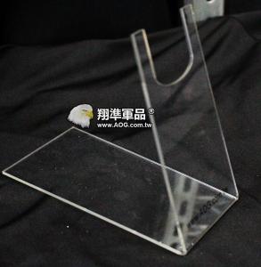【翔準軍品AOG】壓克力 AOG 手槍架 貝瑞塔 左輪 GLOCK D-08-03