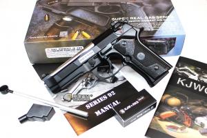 【翔準軍品AOG】KJ M9 IA 銀色槍管 全金屬 寬軌 戰術 瓦斯槍 手槍 D-05-13