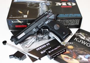 【翔準軍品AOG】KJ M9  全金屬 無軌 戰術 瓦斯槍 手槍 D-05-14