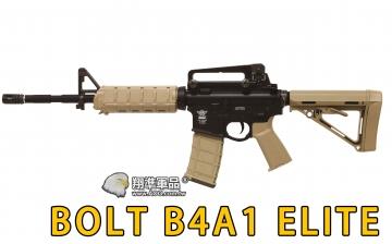 【翔準國際AOG】BOLT B4A1 ELITE 後座力電動槍 購買再送五個彈匣 M4A1 (黑沙任選)