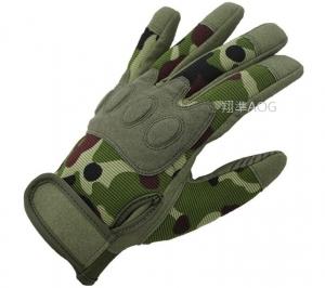 【翔準軍品AOG】傘兵全指迷彩手套 手套 生存遊戲 射擊 手套 騎車 機車 腳踏車 防BB彈 X1-45-1