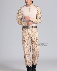 【翔準國際AOG】數位沙漠 青蛙裝 生存 套服 戰鬥服 棉質上衣 耐磨 整套 含護具 G0125