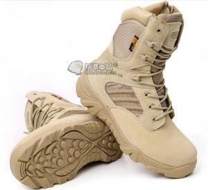【翔準國際AOG】新款 三角洲 沙 側開拉鍊 19公分 沙漠靴 戰鬥靴 靴子 野戰 軍品鞋 軍靴 登山鞋 運動鞋 Delta H0105