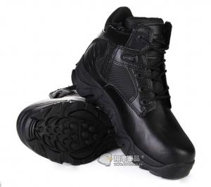 【翔準國際AOG】超短 三角洲 黑 側開拉鍊 14公分 低幫 戰鬥靴 野戰 軍靴 登山鞋 運動鞋 Delta H0103