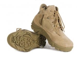 【翔準國際AOG】超短 三角洲 沙 側開拉鍊 14公分 低幫 戰鬥靴 野戰 軍靴 登山鞋 運動鞋 Delta H0102