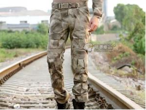 【翔準國際AOG】AT 潑墨灰 Gen2 青蛙褲 生存 長褲 工作褲 戰鬥褲 耐磨 含護具 G0507