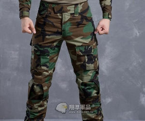 【翔準國際AOG】美軍迷彩 美迷 Gen2 青蛙褲 生存 長褲 工作褲 戰鬥褲 耐磨 含護具 G0509D