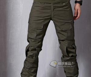 【翔準國際AOG】OD 軍綠 綠色 Gen2 青蛙褲 生存 長褲 工作褲 戰鬥褲 耐磨 含護具 G0502
