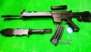 【翔準國際AOG】*無法超取*SRC T91 國軍刺刀版 全金屬 電動槍 保固60天 國防 軍人 愛國 台灣