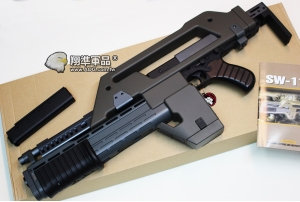 【翔準國際AOG】SNOW WOLF M41A  ELECTRIC Alien 異形 電動槍 SW-11