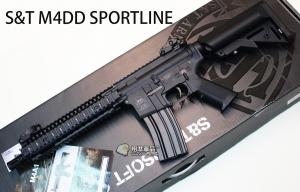 【翔準軍品AOG】S&T M4DD SPORTLINE 電動槍 黑色 AEG-69