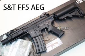 【翔準軍品AOG】S&T M4 FF5 SPORTLINE 電動槍 黑色 魚骨版 AEG 卡賓槍
