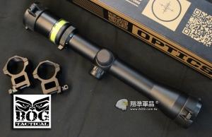 【翔準國際AOG】BOG 3-9x40 自動發光 光纖軍規抗震 瞄準具 保固60天 狙擊鏡 瞄準鏡 可抗真槍瞄具 (紅綠任選) 1574/1543
