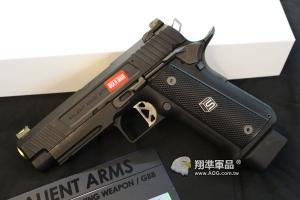 【翔準國際AOG】EMG SAI HI CAPA 4.3 美國正式授權 仿真刻字 瓦斯手槍 經典收藏瓦斯槍