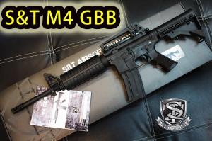 【翔準軍品AOG】S&T  M4A1  GBB 運動版 美軍 特種部隊 特警 士兵突擊 DA-GBB-05B