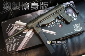 【翔準軍品AOG】Smart Team S&T M3A1 全金屬電動槍 (ST-AEG-11) 黃油槍 / 衝鋒槍 DA-SW06-02