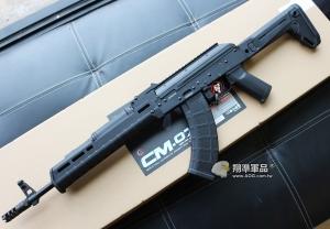 【翔準軍品AOG】CYMA AK M-TYPE(S版 伸縮托) BK 全金屬 電動槍 MP款 新品上市 保固:30天